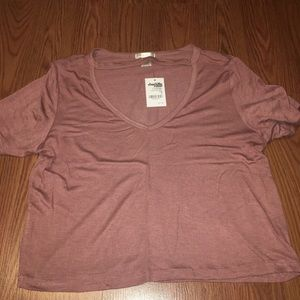 BRAND NEW charlotte russe pink crop top